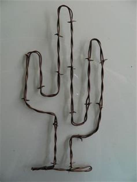 diy wire cactuses for home wire decor wooden stands