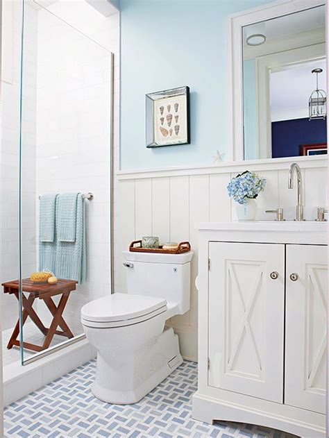 blue and white cottage bathroom ideas