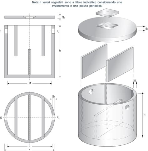vasca condensagrassi v m c veneta manufatti cemento prodotti