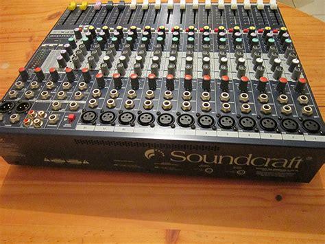 Audio Mixer Soundcraft Efx12 image gallery soundcraft efx12