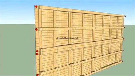 pallet house plans how to built a house with pallets youtube