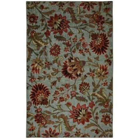 mohawk area rugs discontinued mohawk home syrie light blue 8 ft x 10 ft area rug discontinued 320232 the home depot