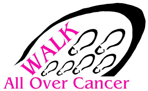 Walk For Womens Cancer by Cancer Walk Antonio Beardall Get Ready To