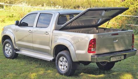 Mountain Toyota Mountain Top Aluminium Tonneau Cover With Cargo Rail