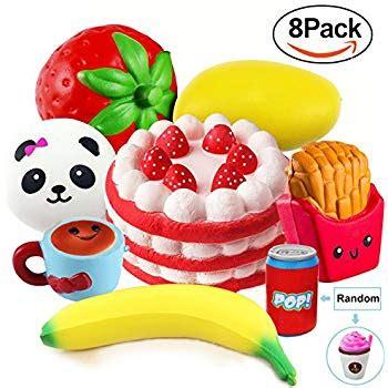 Panda Birthday Cake Squishy 8 pack squishies jumbo rising panda bun