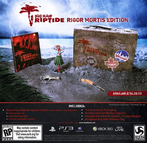 Ps3 Dead Island Riptide fan supported dead island riptide rigor mortis edition shambles to america in april that