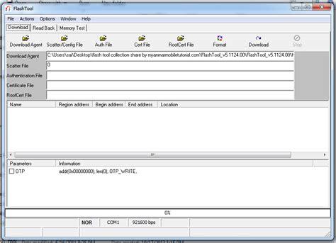 tutorial flash mobile myanmar mobile tutorial mtk အတ က sp flash tool စ စည မ