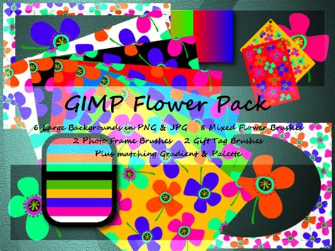 flower pattern gimp gimp flower pack by jedania on deviantart