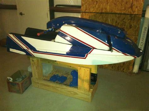 wood work   build  wood jet ski stand easy