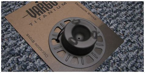 vargo outdoors titanium decagon stove vargo titanium decagon stove test report by derek hansen