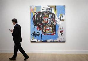 Auction Record Basquiat Painting Sells For Record 110 5 Million At