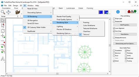home landscape design pro 17 7 for windows 17 turbofloorplan home and landscape pro floor
