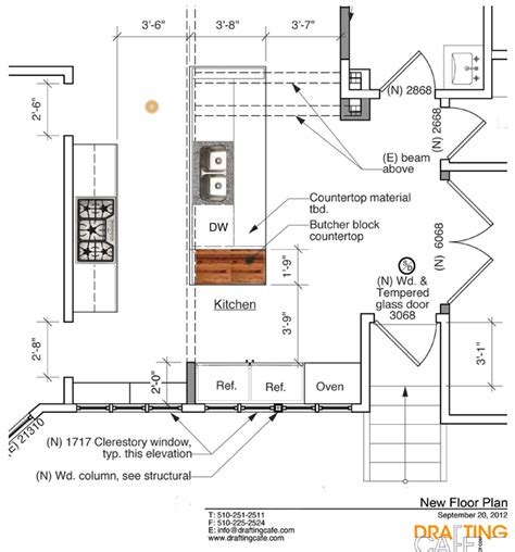 layout unit height bekah and aj s kitchen remodel in berkeley ca