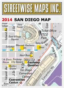 San Diego Street Map by Streetwise 174 Maps