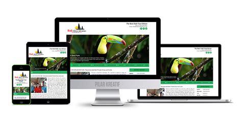 Pembuatan Web website driver adventure bali pembuatan web di bali