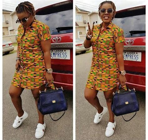 Simple Ankara Short Gown Styles