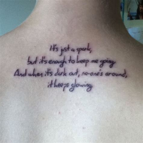 paramore tattoos paramore lyrics chorus from last paramore
