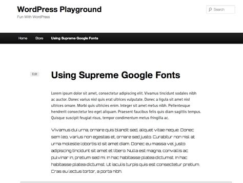use any web font within wordpress posts with inline css how to change the fonts in your wordpress site by using