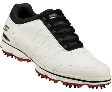Skechers Golf Shoes by Skechers Go Golf Pro Golf Shoes White Navy 53529 Mens