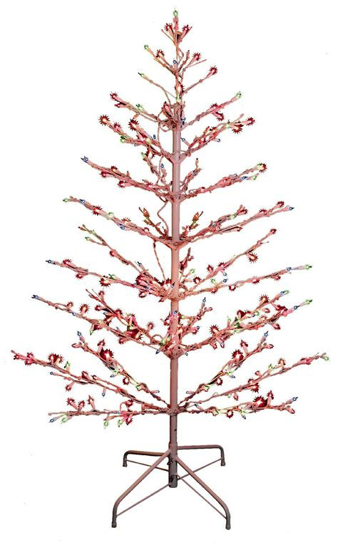 stick christmas tree with lights christmas lights decoration