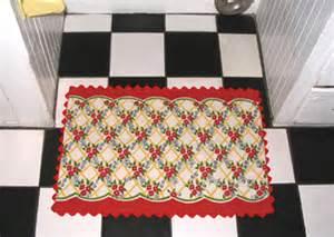 Retro Kitchen Rugs Knick Knacks Ric Rac 187 Archive 187 Tea Towel Kitchen Rug