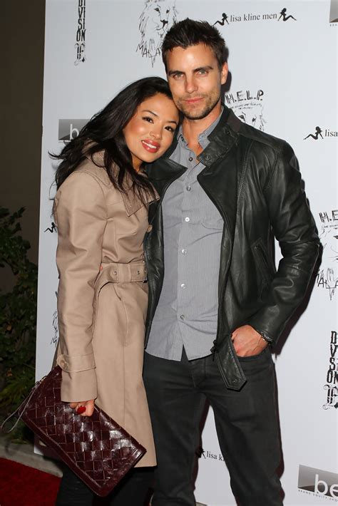 colin egglesfield namorada stephanie jacobsen and colin egglesfield photos photos