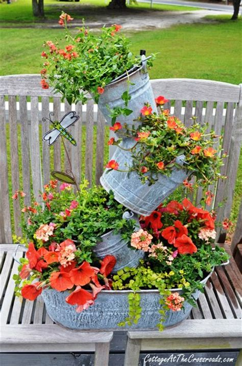 whimsical topsy turvy planter would be a container