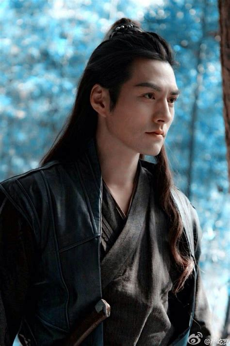 korean men s hairstyles ancient because chinese men with long hair are so fucking hot it