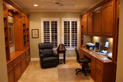 built in desk cabinets custom home office cabinets and built in desks ideas 6