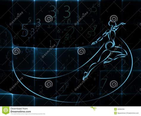 abstract pattern in mathematics advance of geometry stock illustration image 43365295