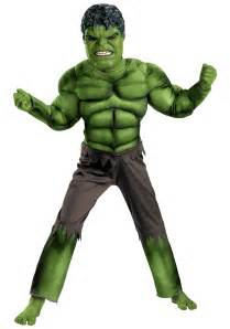 Red Barn Toy Child Avengers Hulk Muscle Costume