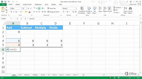 Mat Excel by How To Do Basic Math Boxfirepress