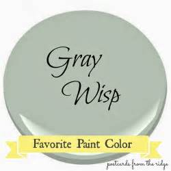 Chicago Interior Design Firms Benjamin Moore Gray Wisp Favorite Paint Color