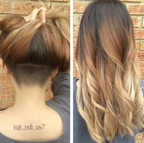 15 Best Collection of Long Hairstyles Shaved Underneath