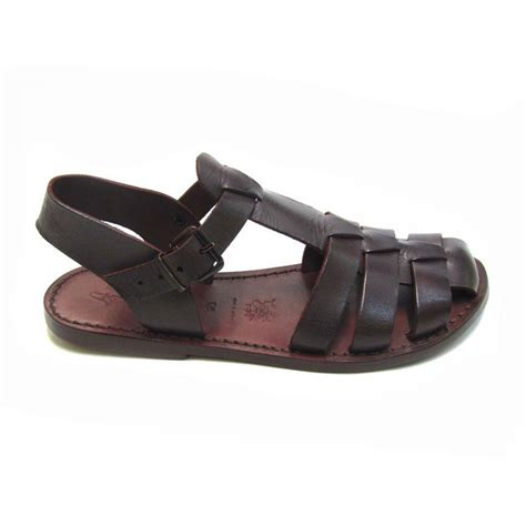 flat sandals brown flat sandals for real leather handmade in