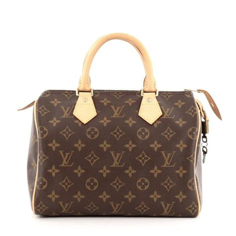 Louis Vuitton Speedy 40391 buy louis vuitton speedy handbag monogram canvas 25 brown 863001 trendlee