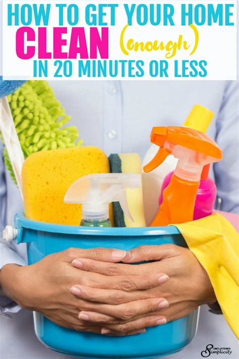 how to clean your house in twenty minutes reality source free quick clean checklist get your home clean in 20
