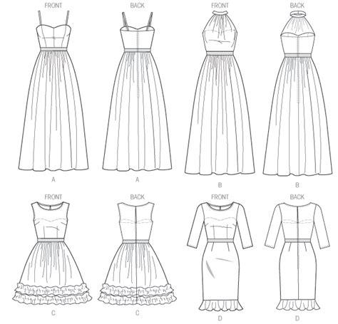 pattern dress lace overlay lace overlay prom dress pattern m6893 sew crafty
