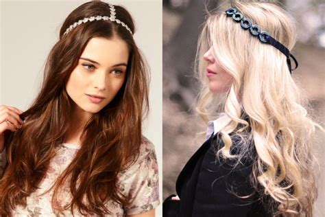 i look different with a different hairstyle what are the different hair accessories for long hair