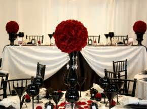 Red Black And White Wedding Tbdress Blog A Dream Come True With A Black White Red