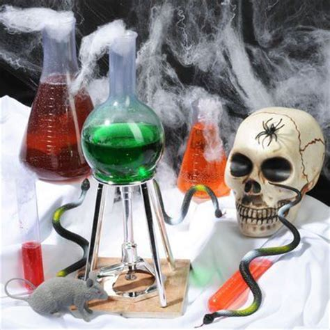 mad science party ideas haunted houses halloween