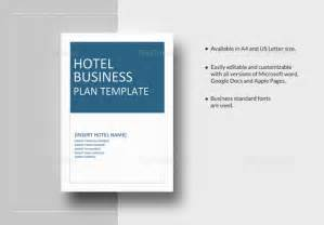hotel business plan template 10 free word excel pdf