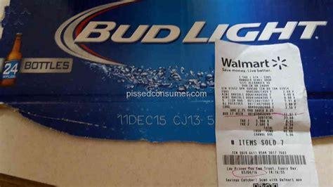 walmart bud light price 51 atlanta walmart reviews and complaints