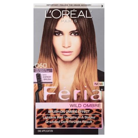 preference wild ombre on short hair l or 233 al 174 paris feria wild ombre hair color target