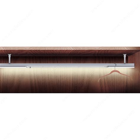 Led Closet Rod by Richelieu S Perfecta Led Closet Rod Richelieu Hardware