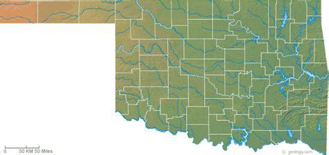 maps oklahoma map of oklahoma