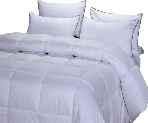 Cal King Alternative Comforter by Overfilled Dobby 300tc Alternative Comforter