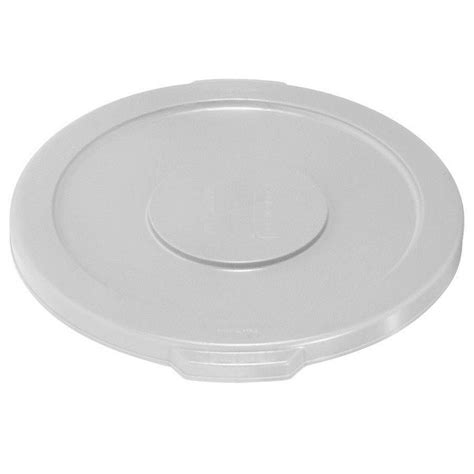 Home Depot Lid by Rubbermaid Commercial Products Brute 20 Gal White