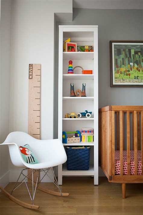 white nursery bookcase kelsey nixon s vibrant and modern nursery project nursery
