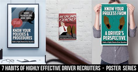 Driver Recruiter by 7 Habits Of Highly Effective Driver Recruiters